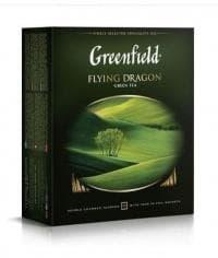 Чай зелёный Greenfield Flying Dragon 100 пак. х 2г
