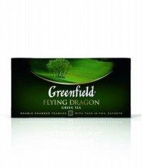 Чай зелёный Greenfield Flying Dragon (25 пак. х 2г)
