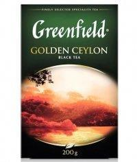 Чай черный Greenfield Golden Ceylon листовой 200г