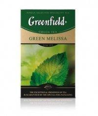 Чай листовой Гринфилд Грин Мелисса зелёный 85г. (0,085 кг)