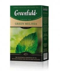 Чай зелёный Greenfield Green Melissa листовой 85 г