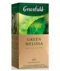 Чай зеленый Гринфилд Грин Мелисса (25 пак. х 1,5г.)