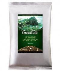 Чай Гринфилд Жасмин Симфони зелёный листовой 250г. (0,250 кг.)