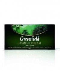 Чай зелёный Гринфилд Жасмин Дрим (25 пак. х 2г.)