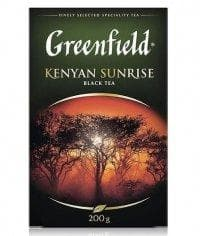 Чай черный Greenfield Kenyan Sunrise листовой 200г