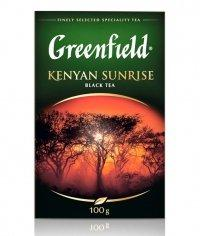 Чай черный Greenfield Kenyan Sunrise листовой 100г
