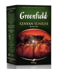 Чай черный Greenfield Kenyan Sunrise листовой 100г