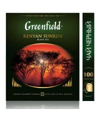 Чай черный Greenfield Kenyan Sunrise 100 пак. х 2г
