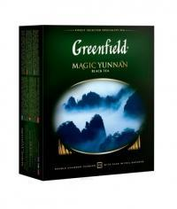 Чай черный Greenfield Magic Yunnan 100 пак. х 2г