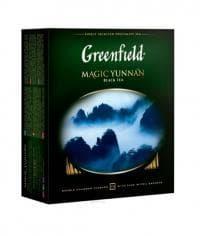 Чай черный Гринфилд Мэджик Юньнань, 100 пак. х 2г.