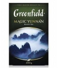 Чай черный Greenfield Magic Yunnan листовой 200г