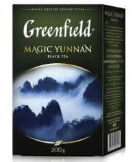 Чай черный Greenfield Magic Yunnan листовой 200г