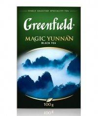 Чай черный Greenfield Magic Yunnan листовой 100г