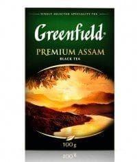 Чай черный Greenfield Premium Assam листовой 100г