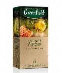 Чай зеленый Greenfield Quince Ginger (25 пак. х 2г)