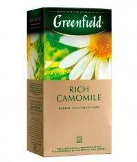 Чай травяной Greenfield Rich Camomile (25 пак. х 1,5г)