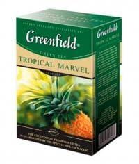 Чай зеленый Greenfield Tropical Marvel листовой 100г