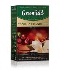 Чай листовой черный Гринфилд Ванилла Крэнберри 100г (0,1кг)