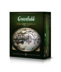 Чай черный Greenfield Earl Grey Fantasy 100 пак. х 2г