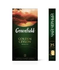 Чай черный Greenfield Golden Ceylon (25 пак. х 2г)