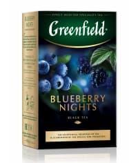 Чай черный Greenfield Blueberry Nights листовой 100г