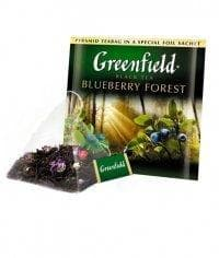 Чай черный Greenfield Blueberry Forest (20 пирам. х 1,8г)