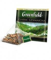 Чай зеленый Greenfield Classic Genmaicha в пирамидках (20 х 1,8г)