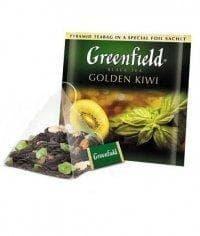 Чай черный Гринфилд Голден Киви в пирамидках (20 х 1,8г.)