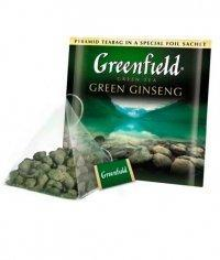 Чай улун Гринфилд Грин Джинсенг в пирамидках (20 х 1,8г.)