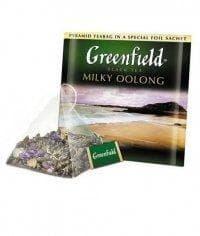 Чай улун Гринфилд Милки Оолонг в пирамидках (20 х 1,8г.)