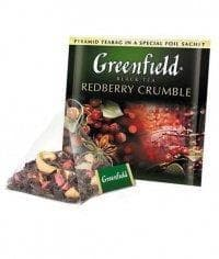 Чай черный Greenfield Redberry Crumble (20 пирам. х 1,8г)