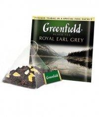 Чай черный Greenfield Royal Earl Grey в пирамидках (20 х 2г)