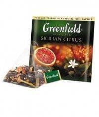 Чай черный Гринфилд Сицилиан Цитрус в пирамидках (20 х 1,8г.)