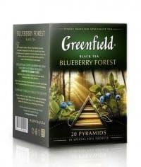 Чай черный Greenfield Blueberry Forest (20 пирам. х 1,8г)