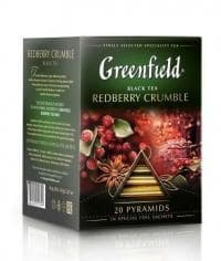 Чай черный Greenfield Redberry Crumble в пирамидках (20 х 1,8г)