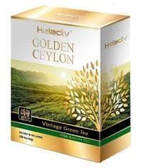 Чай зелёный Heladiv Golden Ceylon VINTAGE 100 пак.