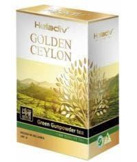 Чай зеленый листовой Heladiv Golden Ceylon Gunpowder 100 г