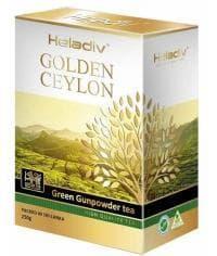 Чай зеленый листовой Heladiv Golden Ceylon Gunpowder 250 г