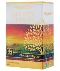 Чай черный Heladiv Golden Ceylon OPA супер крупнолистовой 100 г