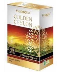 Чай черный Heladiv Golden Ceylon OPA супер крупнолистовой 250 г