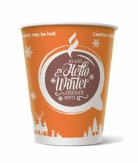 Бумажный стакан Hello Winter d=70 150мл