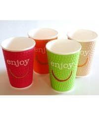 Бумажный стакан Huhtamaki NDW16 Enjoy 2-слойный d=90 400мл