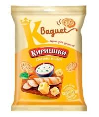 Сухарики Кириешки Baguet Сметана и сыр 50 г