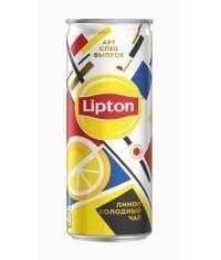 Чай Липтон Lipton Ice Tea Лимон 250мл ж/б