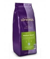 Кофе в зернах Lofbergs Medium Roast 1000 г (1кг)