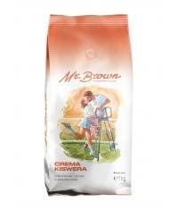 Кофе в зернах MrBrown Crema Kiswera 1000 г (1кг)