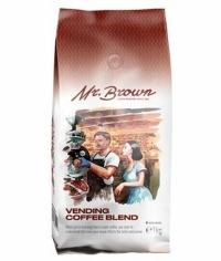 Кофе в зернах MrBrown Vending Coffee Blend 1000 г (1кг)