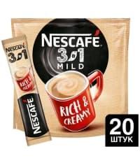 Кофе Nescafé 3в1 Мягкий стик 14.5г × 20 шт.