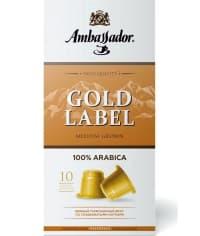 Кофе-капсулы Nespresso Ambassador Gold Label 5 г x10