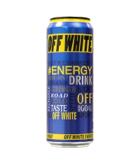 Энергетический напиток OFF WHITE Energy 450мл ж/б